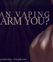 can vaping harm you