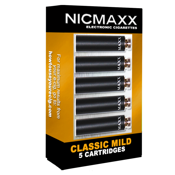 Classic Mild Cartridge Pack Nicmaxx
