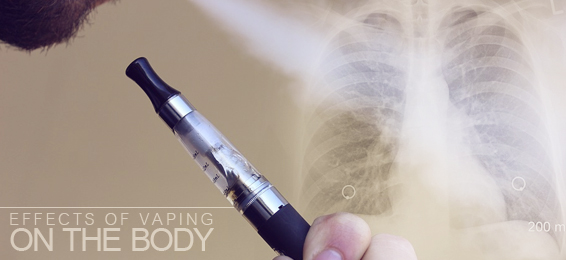 effects of vaping on the body