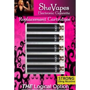 SheVapes (Cherry) Cartridge Pack Nicmaxx
