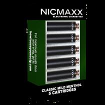 Classic Mild Menthol Cartridge Pack Nicmaxx