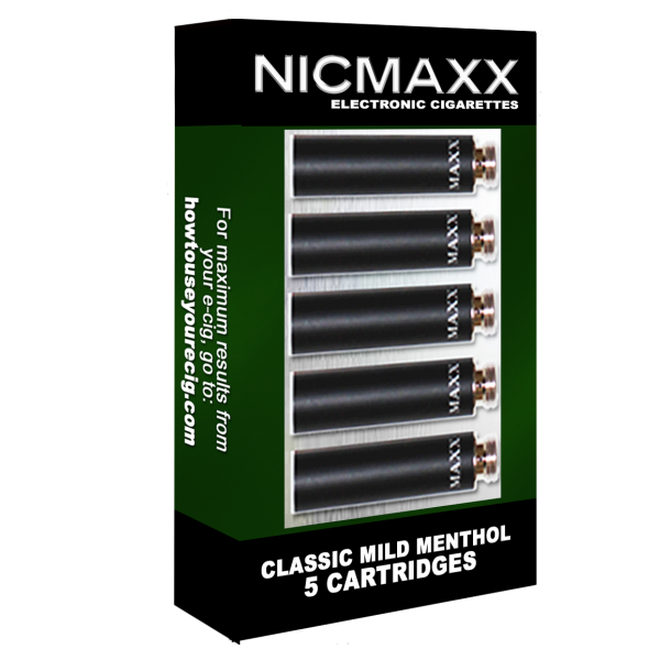 Classic Mild Menthol Cartridge Pack Nicmaxx